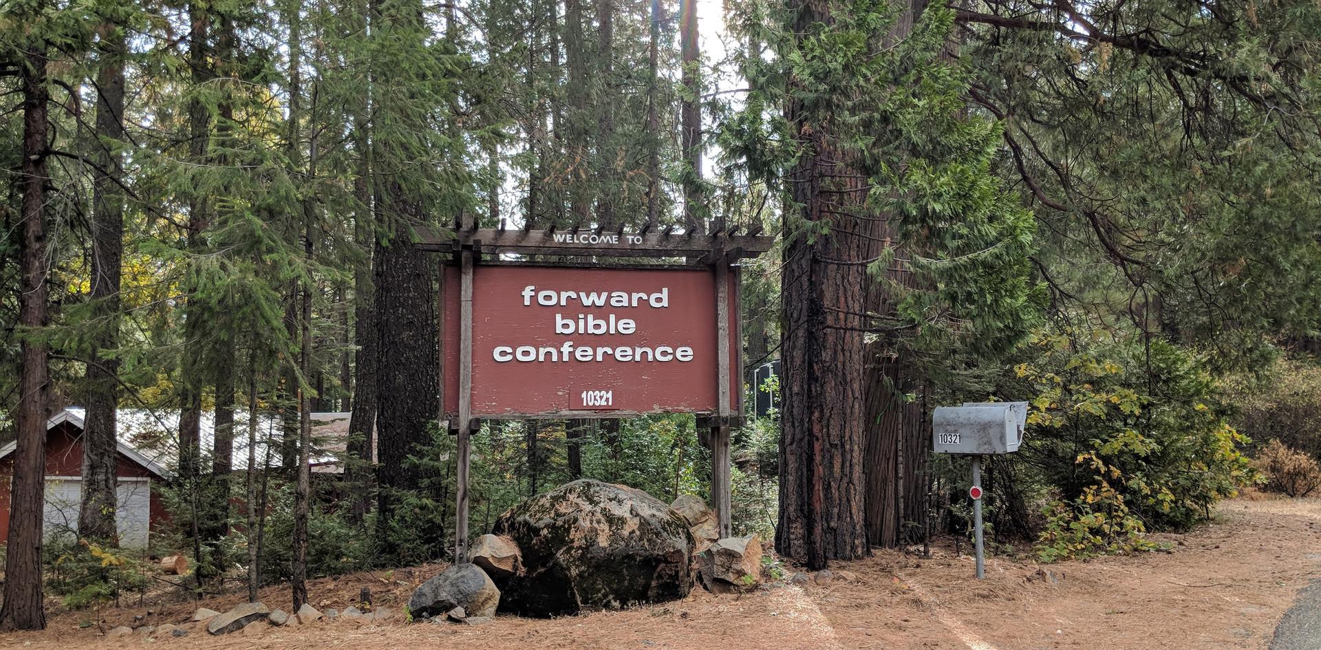 Camp Entrance