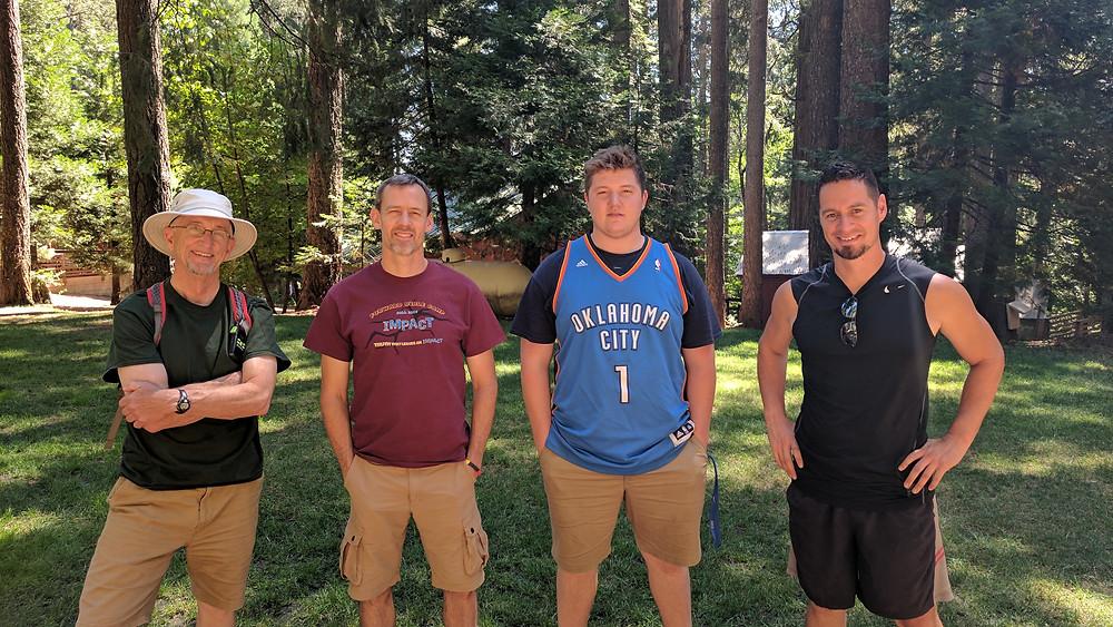 Steve Gillette, Keith Stringfellow, Daniel Frank, and Vic Cordova