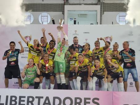 Cianorte Futsal Feminino consegue recurso de R$ 100 mil através da Lei de Incentivo ao Esporte