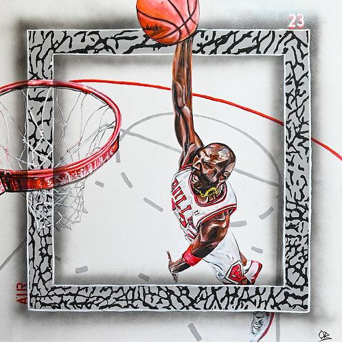 Michael Jordan Original Painting