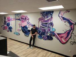 SHBA Nail Classroom Mural