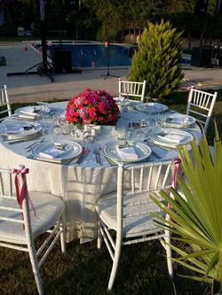 bodrum wedding table