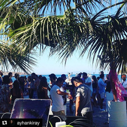 #Repost _ayhankiray with _repostapp_・・・_Mine & Doruk Wedding_Beach Party__ssmusicmaker _giselletavil
