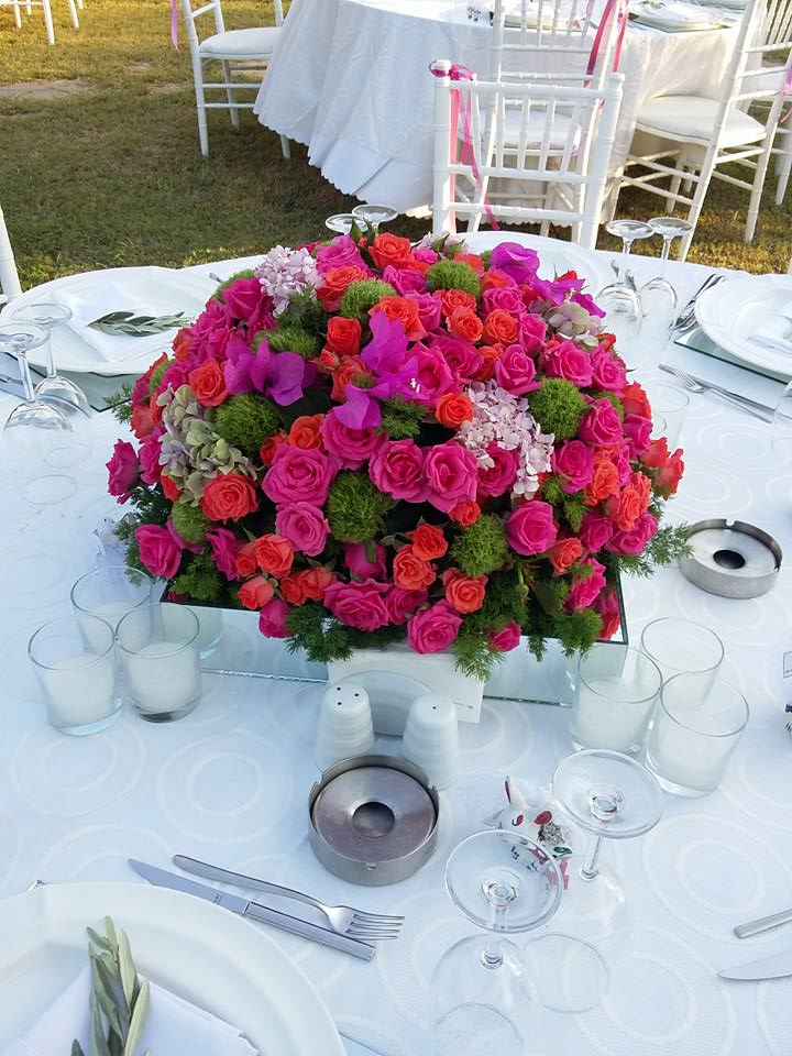 bodrum flower wedding