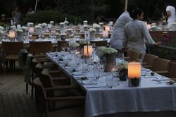 bodrum maça kızı hotel wedding table