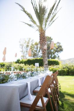 flamm wedding table