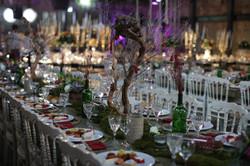 naturel wedding decor