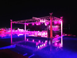 caresse pool party
