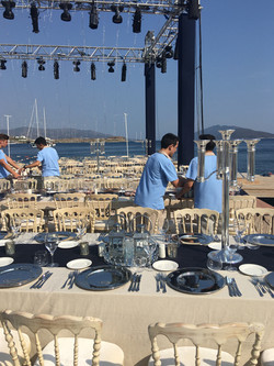 beach wedding caresse
