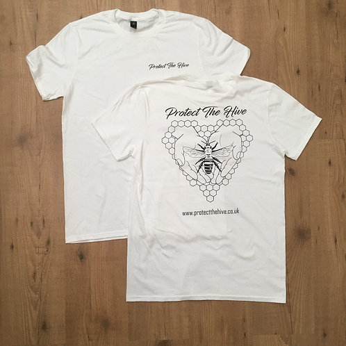 Protect The Hive T shirt White