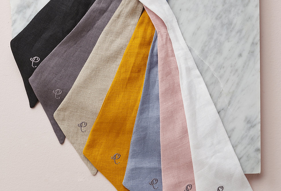 Short Linen ribbon