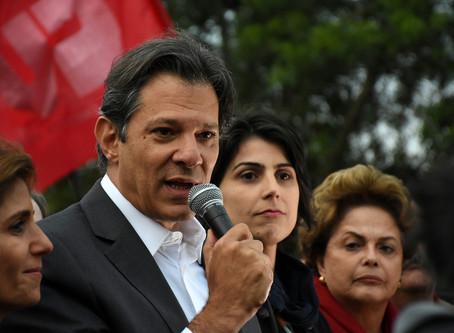 PT e PSDB, por razões diferentes, apostam em Haddad no segundo lugar nas próximas pesquisas