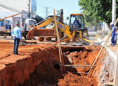 GDF:  R$ 230 milhões são investidos em obras de água e saneamento