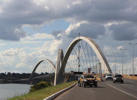 Ponte JK será interditada neste fim de semana
