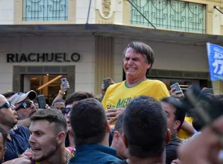 Facada contra Bolsonaro não trouxe nem tirou votos, diz presidente do Ibope