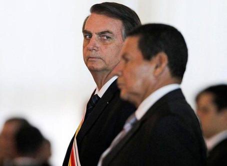 Em 2022, Mourão deve ficar fora da chapa de Bolsonaro