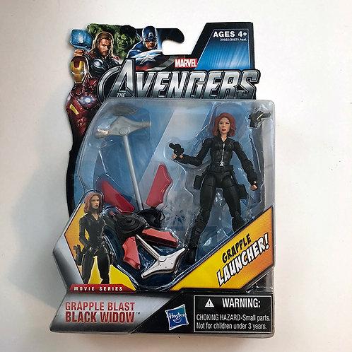 Marvel The Avengers Movie Series Grapple Blast Black Widow