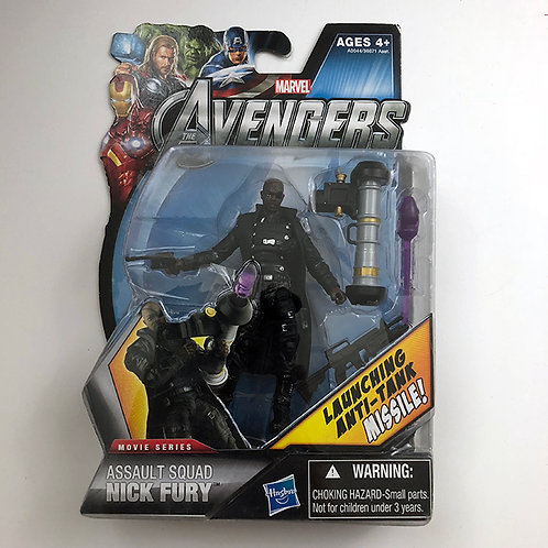 Marvel The Avengers Movie Series Assault Squad Nick Fury