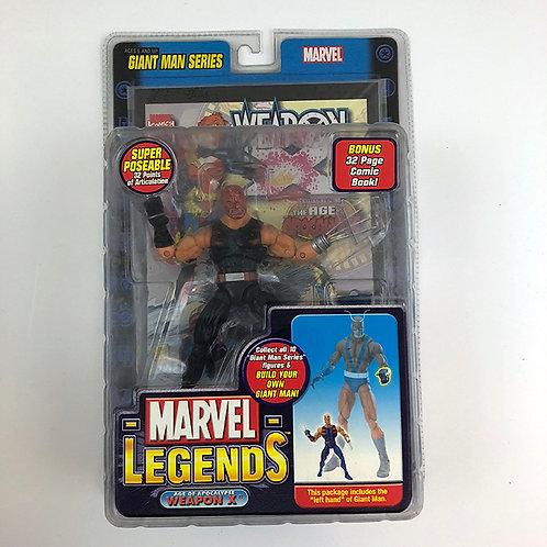 Marvel Legends Age of Apocalypse Weapon X