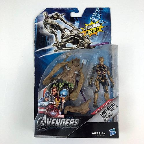 Marvel The Avengers Movie Series Chitauri Cosmic Chariot Invasion