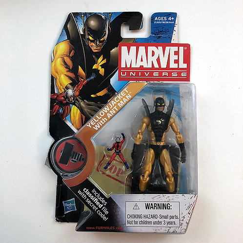 Marvel Universe Yellow Jacket with Ant Man