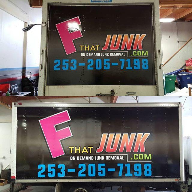 F That Junk Box Truck