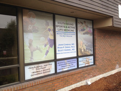 South Sound Medical Clinic Window Wrap