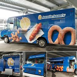 Auntie Anne's Pretzel Truck