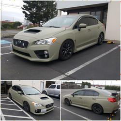 Subaru WRX - Avery Matte Khaki Green