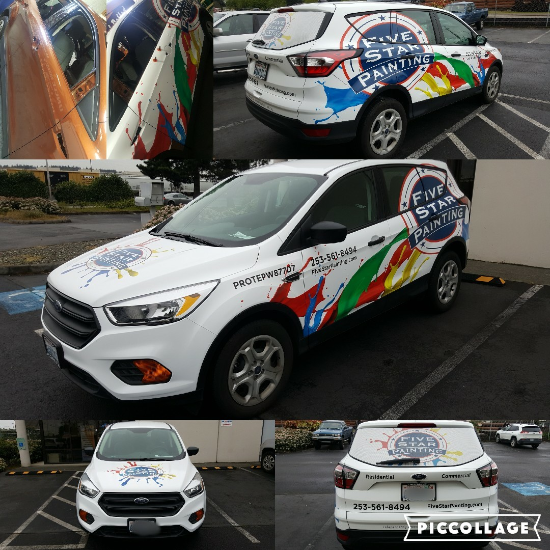 Five Star Painting - Ford Focus Wrap