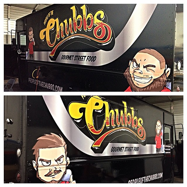 People of the Chubbs Food Truck