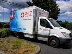 24_7 Flood and Fire Fleet Truck