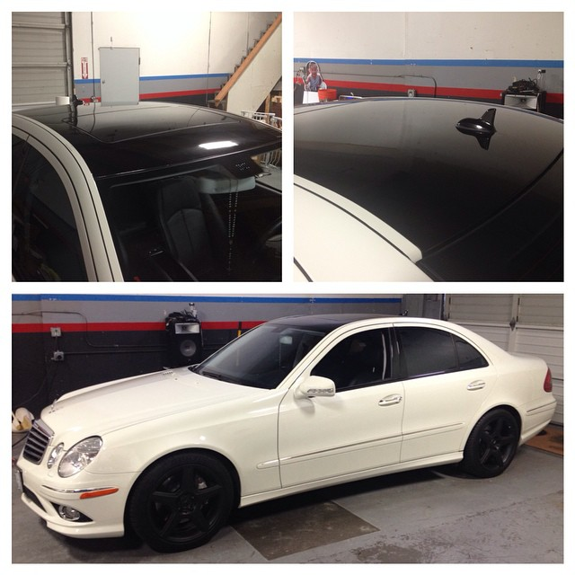 3M Metallic Black Roof Wrap