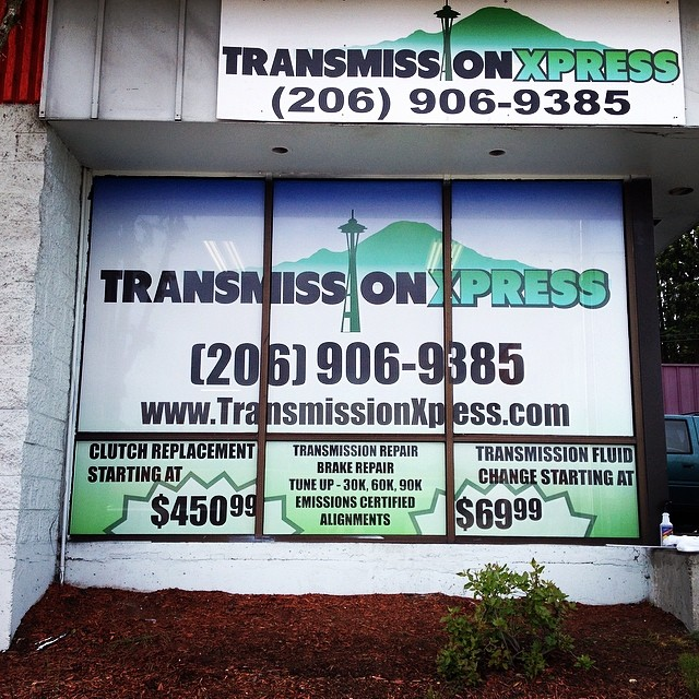 Transmission Xpress Window Wrap