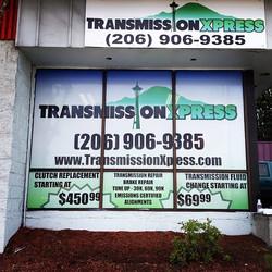 Transmission Xpress Window Wrap