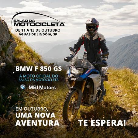 BMW F 850 GS A MOTO OFICIAL DO SALÃO DA MOTOCICLETA