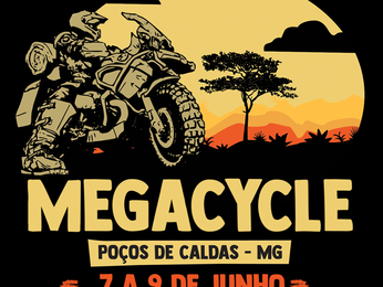 Megacycle - Poços de Caldas de 07 a 09 de Junho!