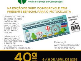 REDE DE HOTÉIS HOTEL NACIONAL INN DE POÇOS DE CALDAS DÁ DESCONTO ESPECIAL NA DIÁRIA DO HOTEL E OFERE