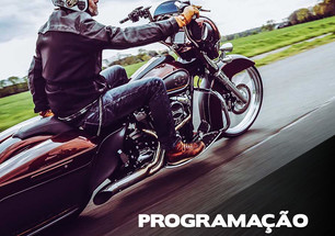 PROGRAMAÇÃO: BANDAS, SHOWS, TEST RIDE