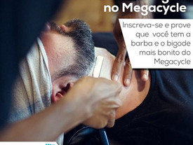 CONCURSO DE BARBA E BIGODE NO MEGACYCLE