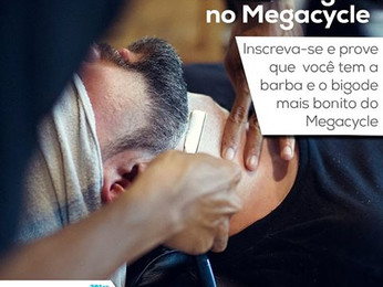 CONCURSO DE BARBA E BIGODE NO MEGACYCLE