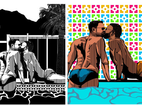Desert Gay Tourism Guild Selects Winner in 2020 Poster and T-Shirt Design Contest