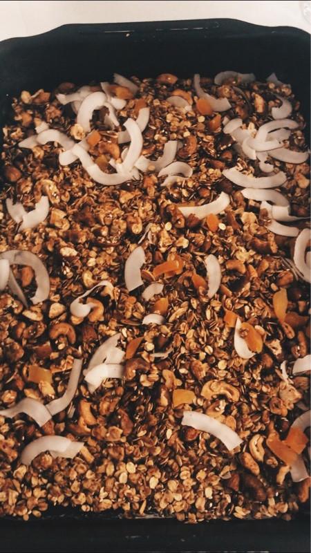 Receita de granola caseira super fácil