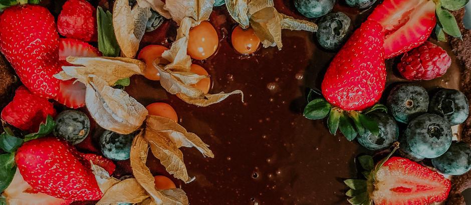 Receita: Torta de Chocolate com Frutas Vermelhas