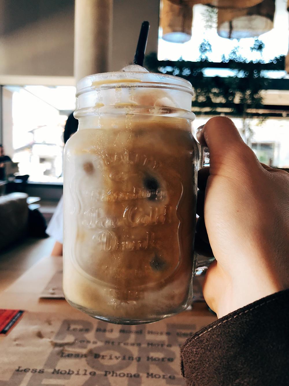 Cold Brew com leite vegetal no Café Cultura