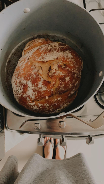 Homemaid bread. Pão caseiro. Pão fácil.