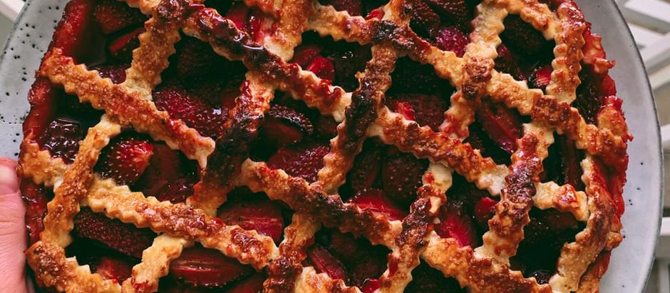 Receita: Torta de morango