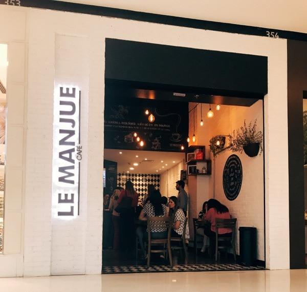 Café Le Manjue - Iguatemi JK fachada