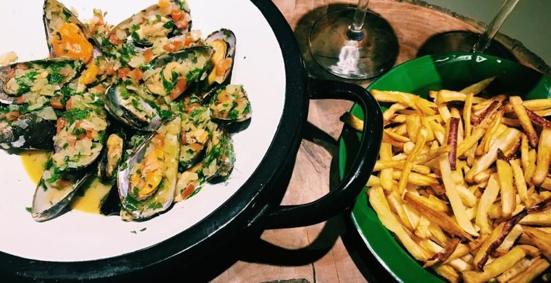 Receita: Moules frites