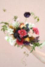 wild summer bouquet from pepper rose flo
